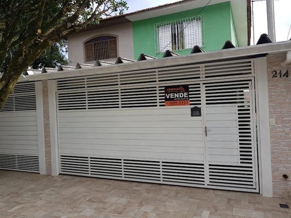 Lindo Sobrado 02 Dormitórios, 02 Vagas Com Portão Automático - 11295
