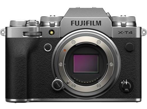 Câmera Fujifilm X-t4 Mirrorless / Fuji Xt4 Prata