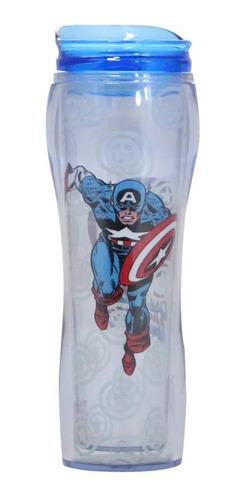Copo Alto 400ml Marvel Comic Capitao America Zc 10021143