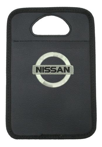 Imagem 1 de 2 de Lixeira Automotiva Nissan Bordado
