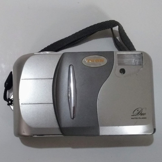 Câmera Analógica Máquina Fotográfica Tron Duo Auto Flash