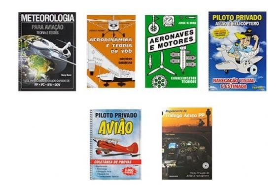 Kit De Livros Piloto Privado Aeroclube De São Paulo (bronze)