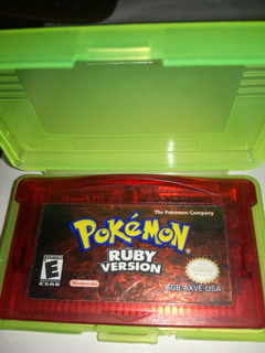 Juego De Game Boy Advance( Pokemon Ruby Version Ingles)
