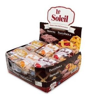 Caja Mixta De Brownies Y Pastafrola De Membrillo O Batata.