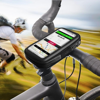 Puro Universal Bike Case W/bike Holder Hasta 4.8 Black
