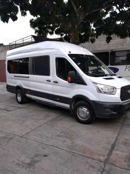 Ford Transit 2.2 Pasajeros Larga Techo Alto Custom Mt 2015