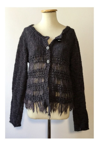 Cardigan De Lana La Ribelle Made In Italy