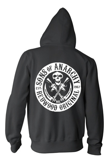 Campera Sons Of Anarchy Redwood Hijos De La Anarquia Samcro