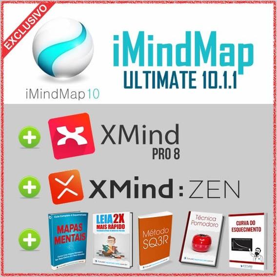 Xmind 8 Pro + Xmind Zen 9 + Imindmap 10.1.1 Ultimate + Bônus