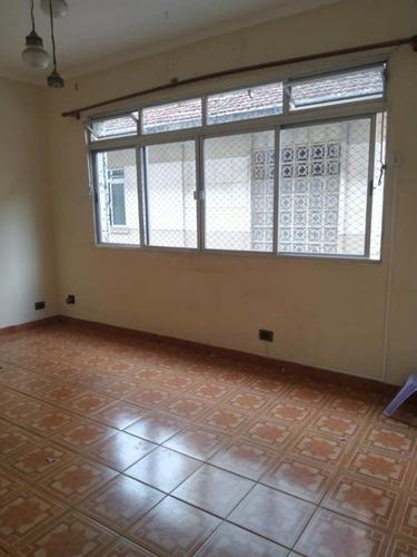 Apartamento À Venda, 64 M² Por R$ 300.000,00 - Campo Grande - Santos/sp - Ap1549