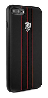 iPhone 8 7 6 Plus 5.5 Funda Ferrari Urban Negro Original