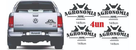 Adesivo Agronomia (personalizado)