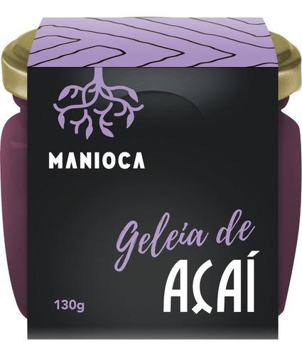 Imagem 1 de 3 de Geleia De Açaí 130g Manioca - 100% Natural