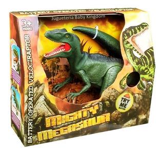 Dinosaurio Velociraptor Que Camina Jugueteria Baby Kingdom