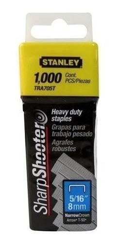 Grapas Stanley 5/16 8 Mm  Para Modelos Stanley Tr150 Y Tr250