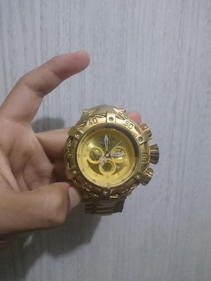 Relógio Dourado Da Invicta