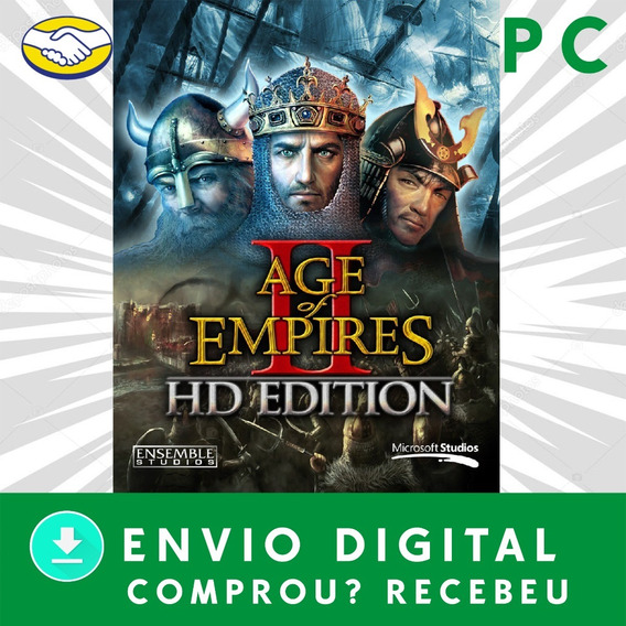 Age Of Empires 2 Hd Pc Digital + 3 Jogos Brindes
