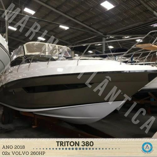 Lancha Triton 380, 2018, 0km Sem Ativar  - Marina Atlântica