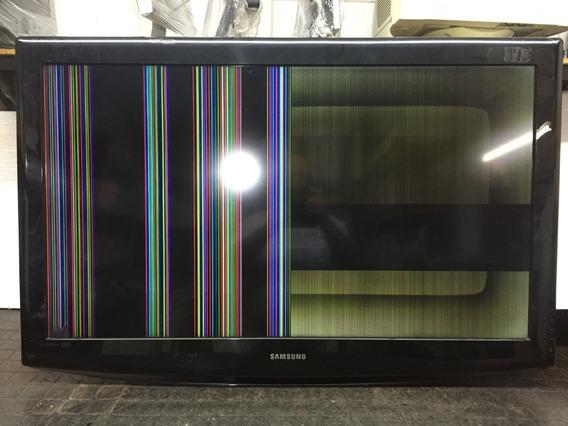 Tv Samsung 40 Ln40a330j1 Xzd C/faixa Na Tela