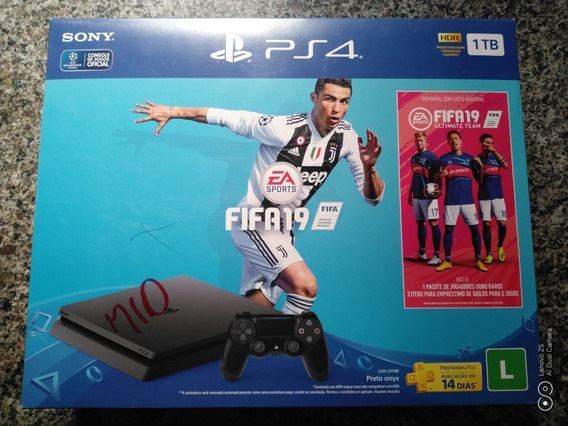 Ps4 Playstation 4 Slim + 2 Controles Sony + 2 Jogos +hd 1tb