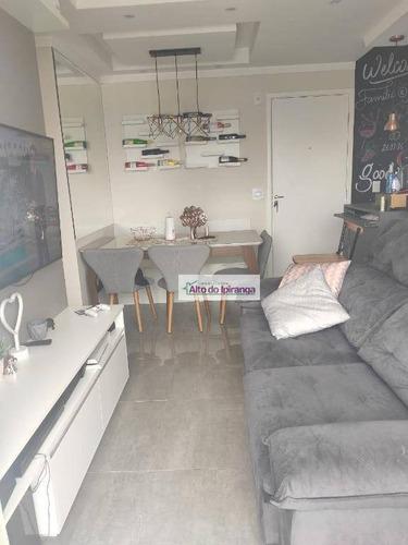 Imagem 1 de 19 de Apartamento Com 2 Dormitórios À Venda, 48 M² Por R$ 330.000,00 - Vila Prudente (zona Leste) - São Paulo/sp - Ap5323