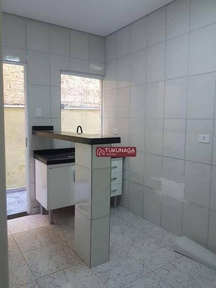Casa Com 1 Dormitório Para Alugar, 50 M² Por R$ 700,00/mês - Jardim Vila Galvão - Guarulhos/sp - Ca0681