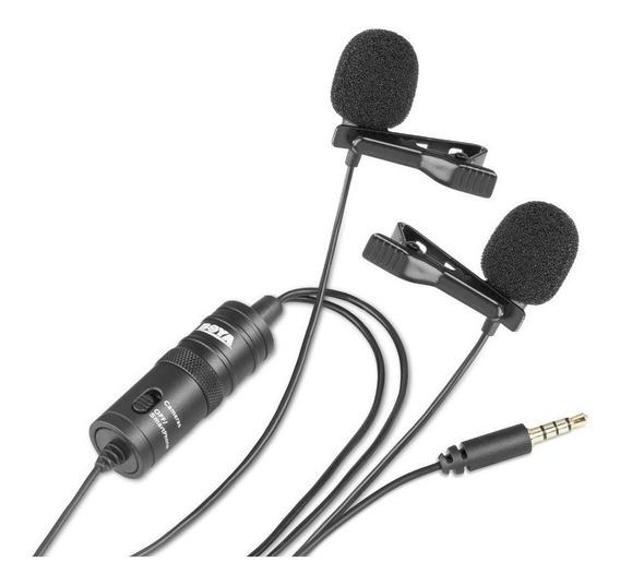 Microfone Boya By-m1dm Condensador Preto