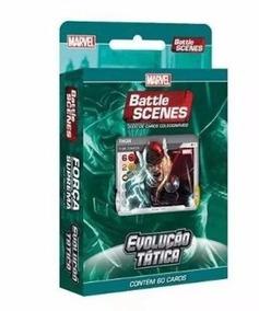 Battle Scenes Marvel Evolução Tática Força Suprema 60 Cards