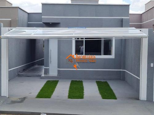 Imagem 1 de 26 de Casa Com 2 Dormitórios À Venda, 68 M² Por R$ 370.000,00 - Vila Nova Bonsucesso - Guarulhos/sp - Ca0472