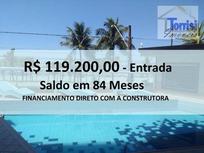 Apartamento Em Praia Grande, Vista Mar, 02 Dormitórios Sendo 01 Suíte, Sala Com Sacada. Lazer Completo Na Ocian Ap1923 - Ap1923