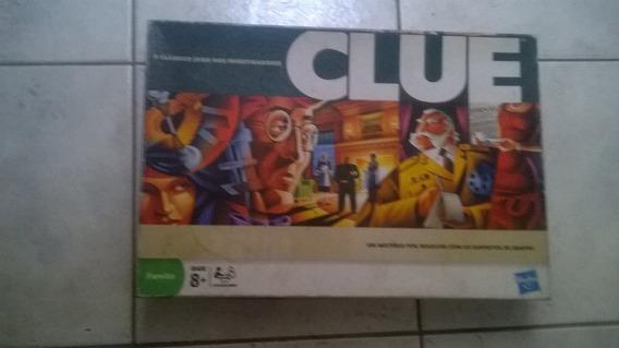 Jogo Clue - Hasbro - O Clássico Jogo Dos Investigadores