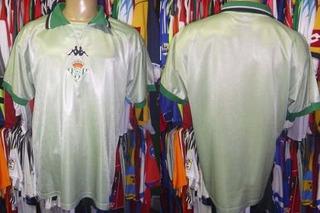 Real Bétis 2000 Camisa Reserva Tamanho G.