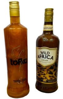 Combo Vodka Tofka + Licor Africa Wild
