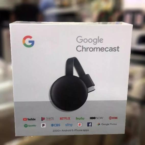Google Chromecast 3 2019 Lançamento Hdmi 1080p Smart Tv