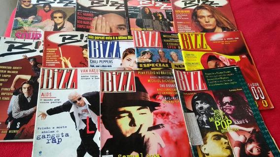 Bizz Várias Épocas Lote Com 12 Revistas Único No Ml Oferta