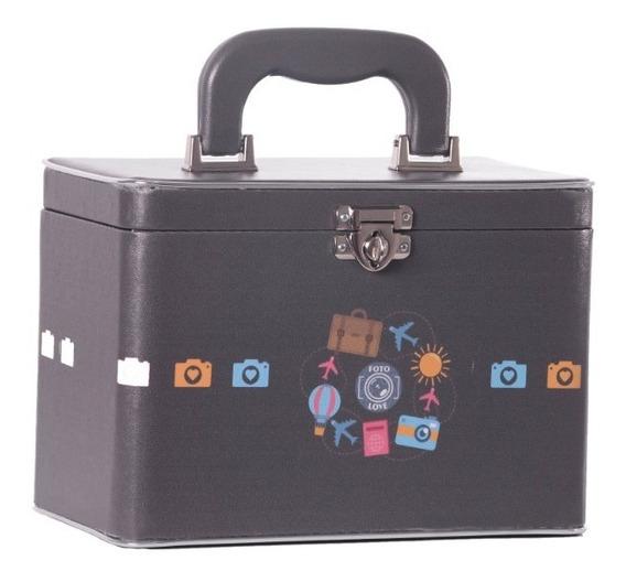 Caixa Box 4 Álbuns Fotográficos 15x21 - 240 Fotos - Estampas Jovem/adulto