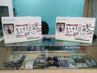 Xbox One S Bundle De Nba 2k19 (1tb) Nuevo