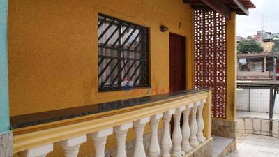 Belo!!! Sobrado Com 2 Dormitórios À Venda, 60 M² Por R$ 225.000 - Parque Boturussu - São Paulo/sp - So0496