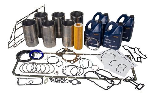Pacote 4 - Reforma Motor D13 (com Camisas E Jogos De Anéis)