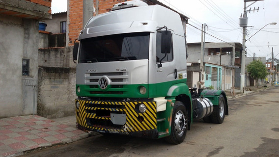 Vw-constellation 19-320 Prata 07/07 Gustavo-caminhões