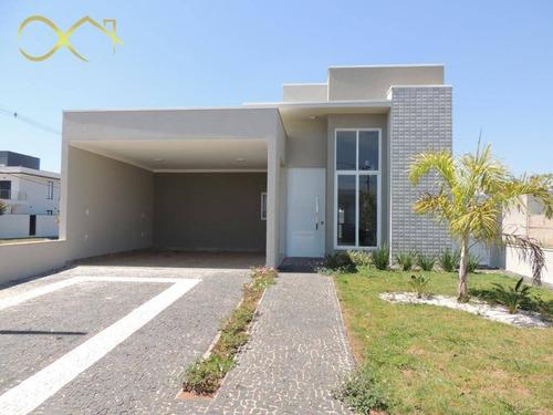 Casa Com 3 Dormitórios À Venda, 156 M² Por R$ 790.000,00 - Condomínio Campos Do Conde Ii - Paulínia/sp - Ca1416