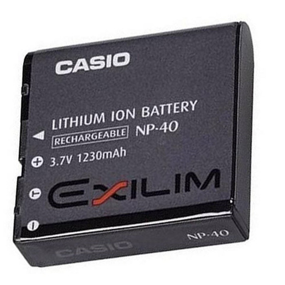 Bateria Casio Elixim Np-40 Original Ex-z30, Ex-z850 Benq