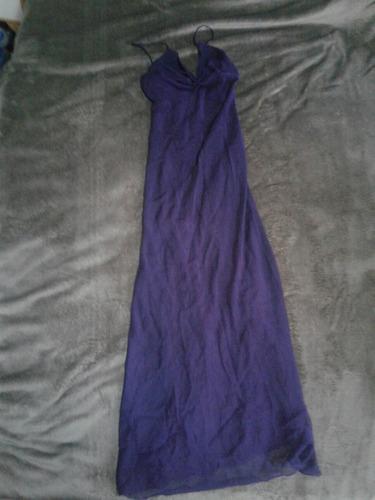 Vestido De Fiesta Violeta Talle S