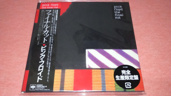 Pink Floyd - The Final Cut Mini Lp Japan Remastered Cd