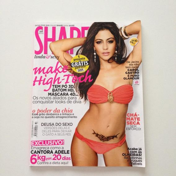 Revista Shape Brasil Carol Castro Nº 33 D641