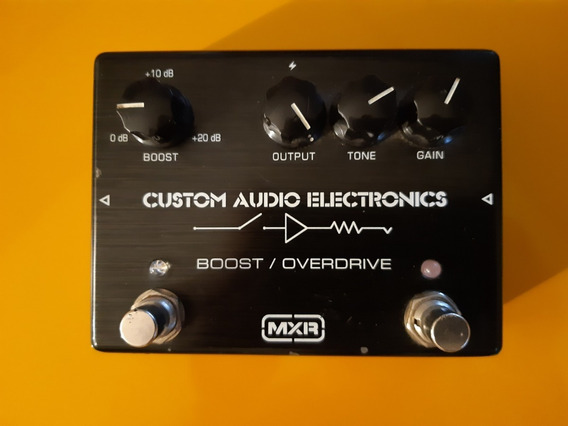 Pedal Mxr Custom Audio Electronics Boost / Overdrive