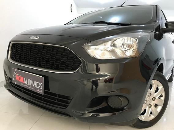 Ford Ka 1.0 Se Único Dono 2015 Preta S/ Entrada