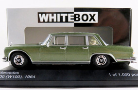 1/43 Mercedes 600 W100 1964 Limo Whitebox Miniatura