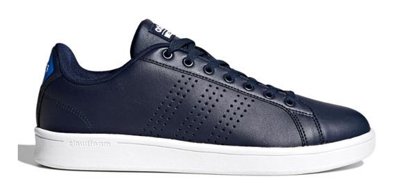 Tênis Masculino adidas Advantage Clean Cloudfoam Azul Bb9625
