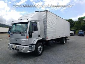 Ford Cargo 4030 Toco Baú 9mts 4x2 2001 Revisado !